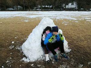 長く遊べるようにするには・・・自閉症の息子と雪遊びをしました