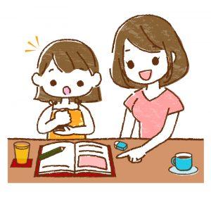 言葉が遅い子の日常会話の練習と小学校の授業のための教科書学習の準備